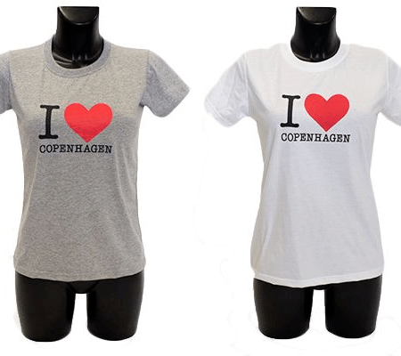 'I Love Copenhagen'' t-shirt